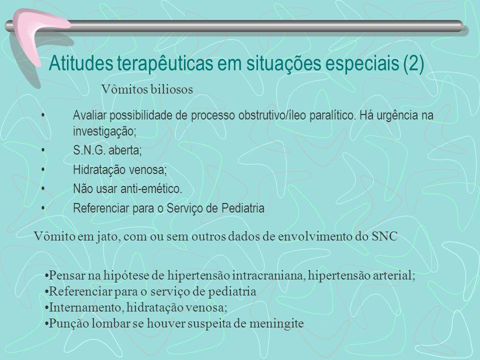 Atitudes terapêuticas em situações especiais (2)