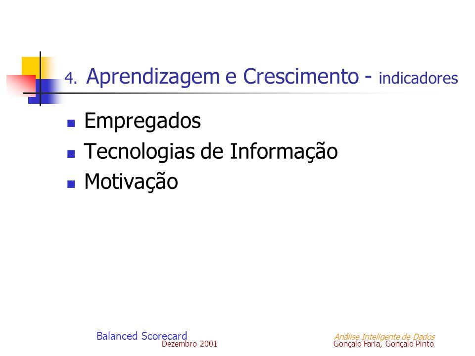 4. Aprendizagem e Crescimento - indicadores