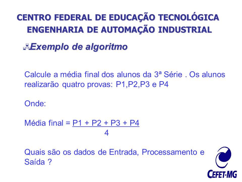 ENGENHARIA DE AUTOMAÇÃO INDUSTRIAL