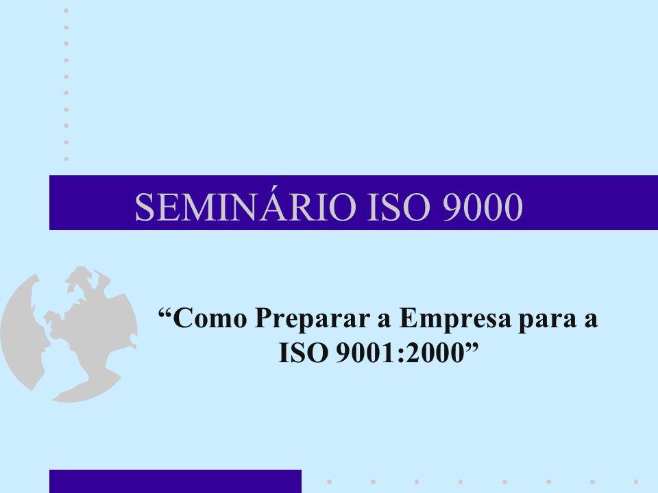 Como Preparar a Empresa para a ISO 9001:2000