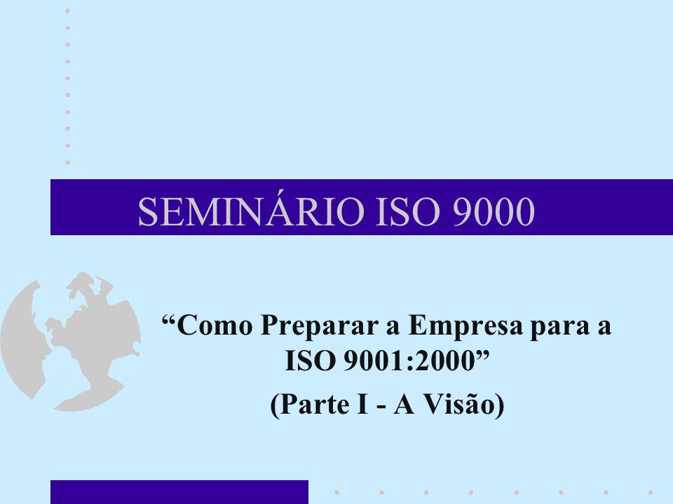 Como Preparar a Empresa para a ISO 9001:2000 (Parte I - A Visão)