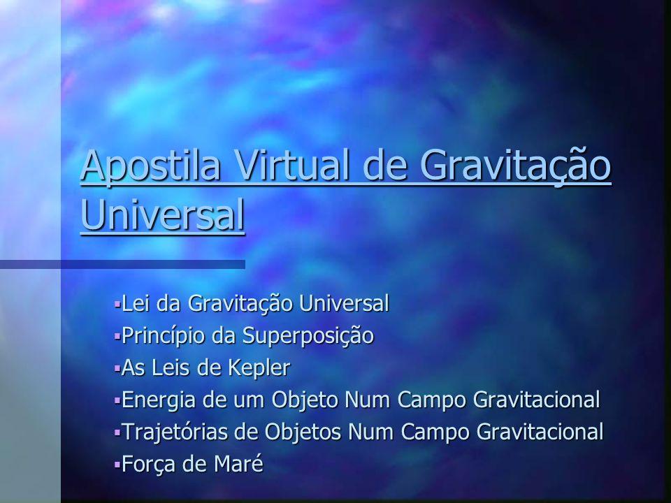 Apostila Virtual de Gravitação Universal