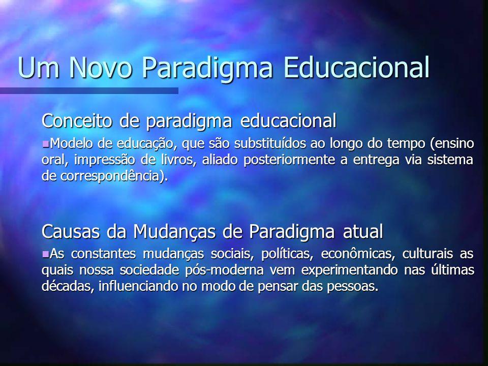 Um Novo Paradigma Educacional