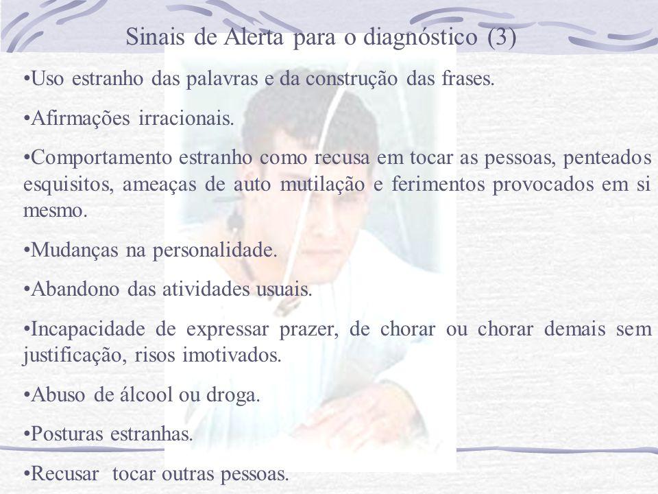 Sinais de Alerta para o diagnóstico (3)