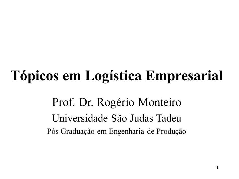 Tópicos em Logística Empresarial