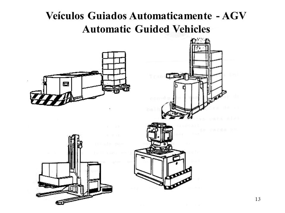 Veículos Guiados Automaticamente - AGV Automatic Guided Vehicles