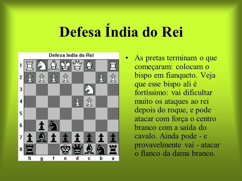 Defesa Índia do Rei