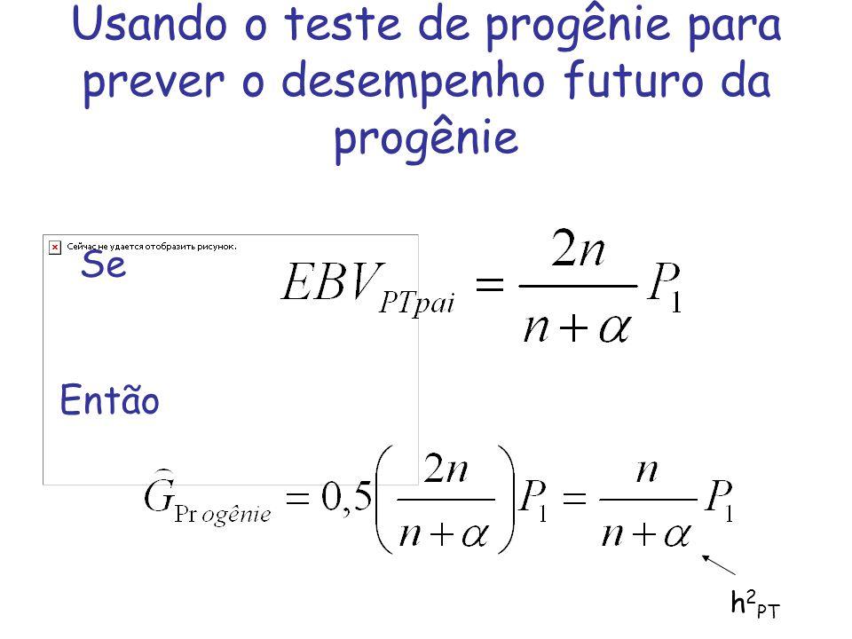 Usando o teste de progênie para prever o desempenho futuro da progênie