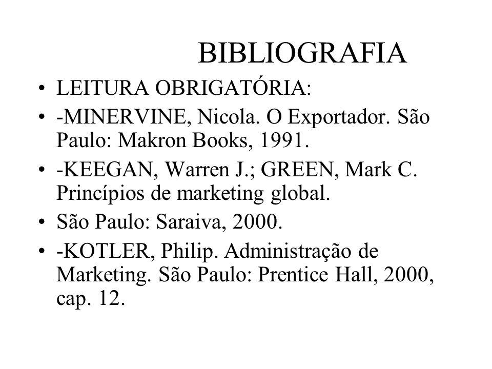 BIBLIOGRAFIA LEITURA OBRIGATÓRIA:
