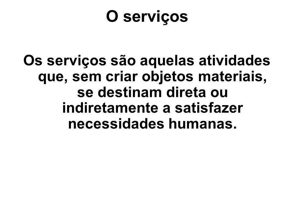O serviços