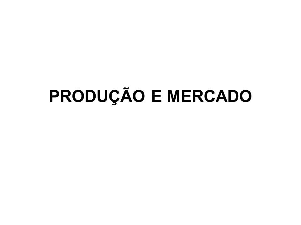 PRODUÇÃO E MERCADO