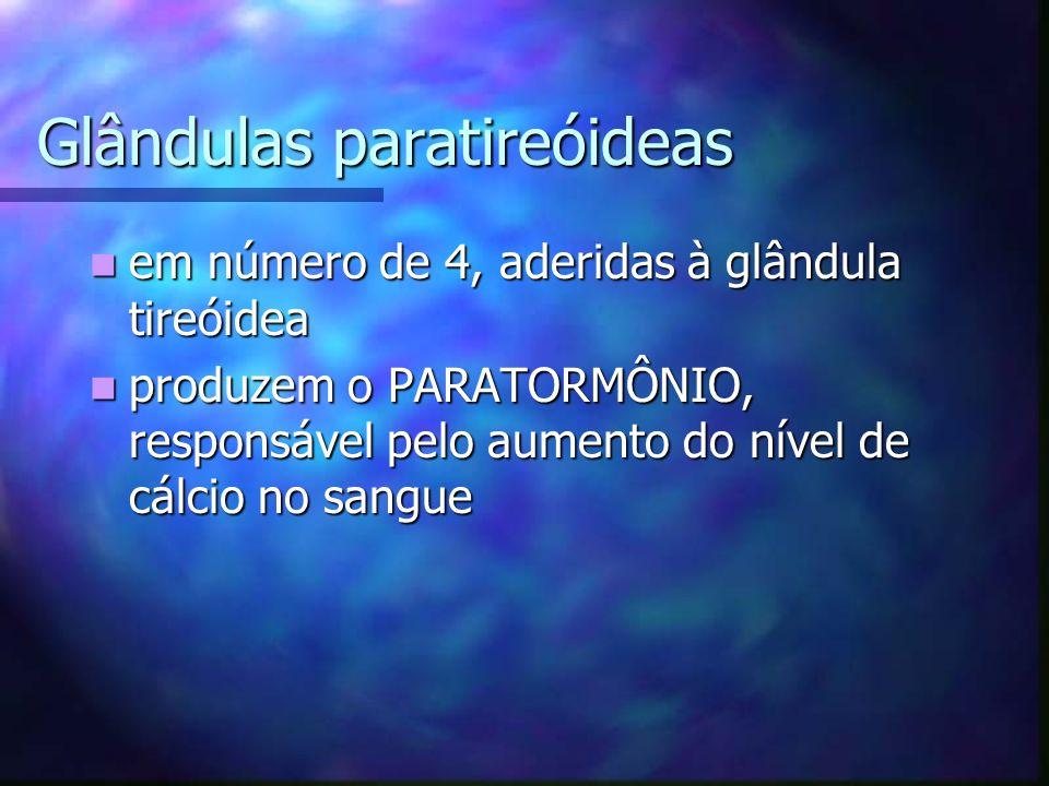 Glândulas paratireóideas