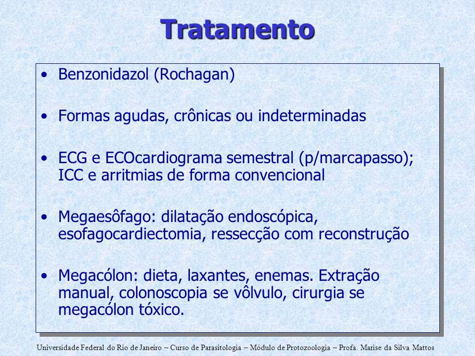 Tratamento Benzonidazol (Rochagan)
