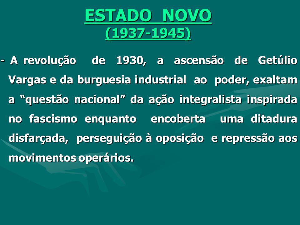 ESTADO NOVO (1937-1945)