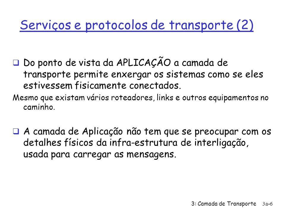 Serviços e protocolos de transporte (2)