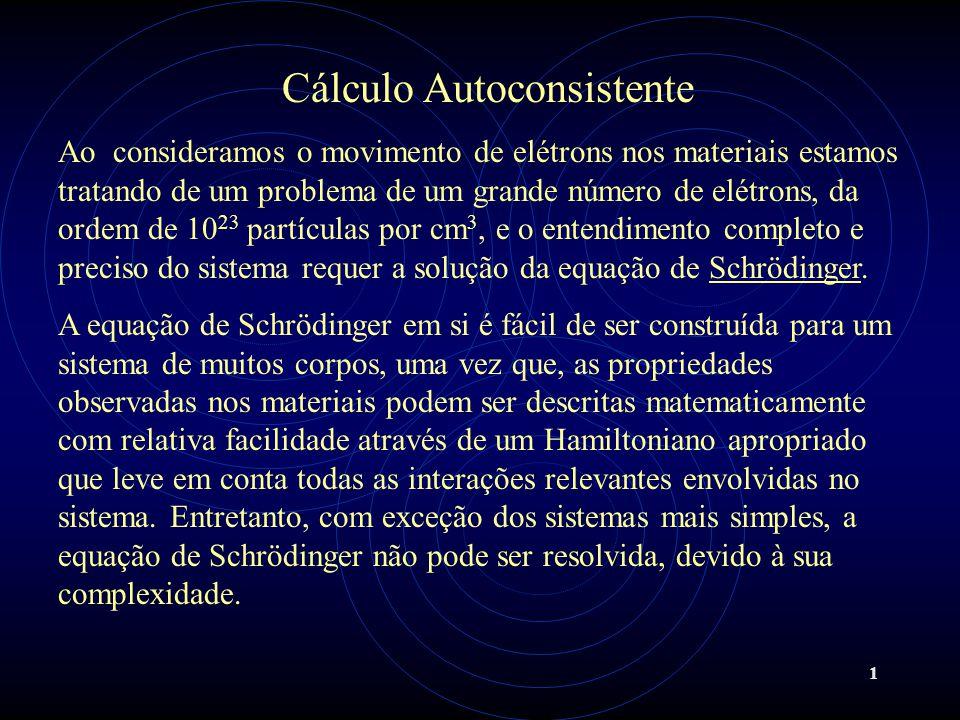 Cálculo Autoconsistente