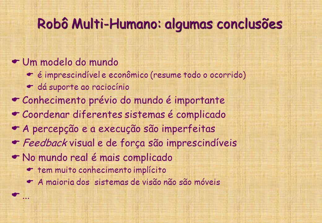 Robô Multi-Humano: algumas conclusões