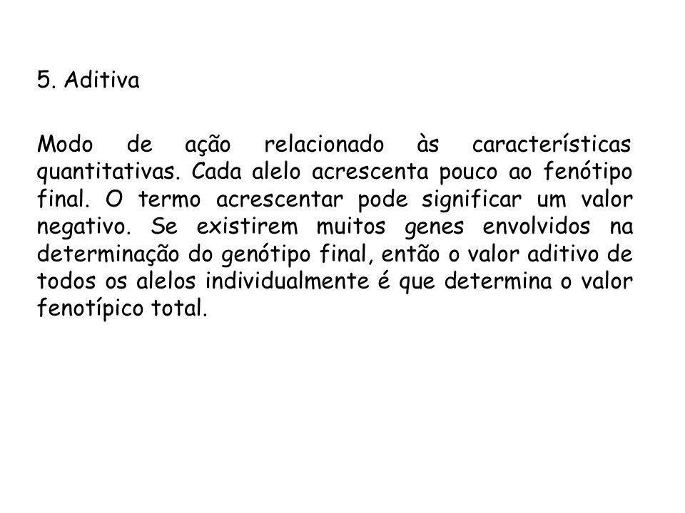 5. Aditiva