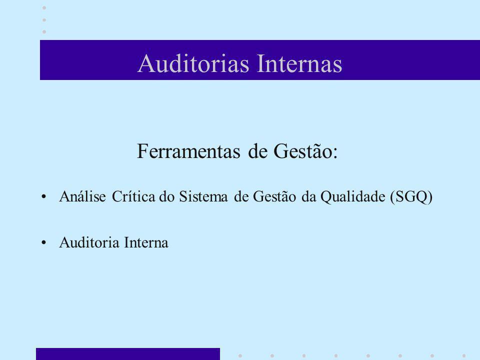 Auditorias Internas Ferramentas de Gestão: