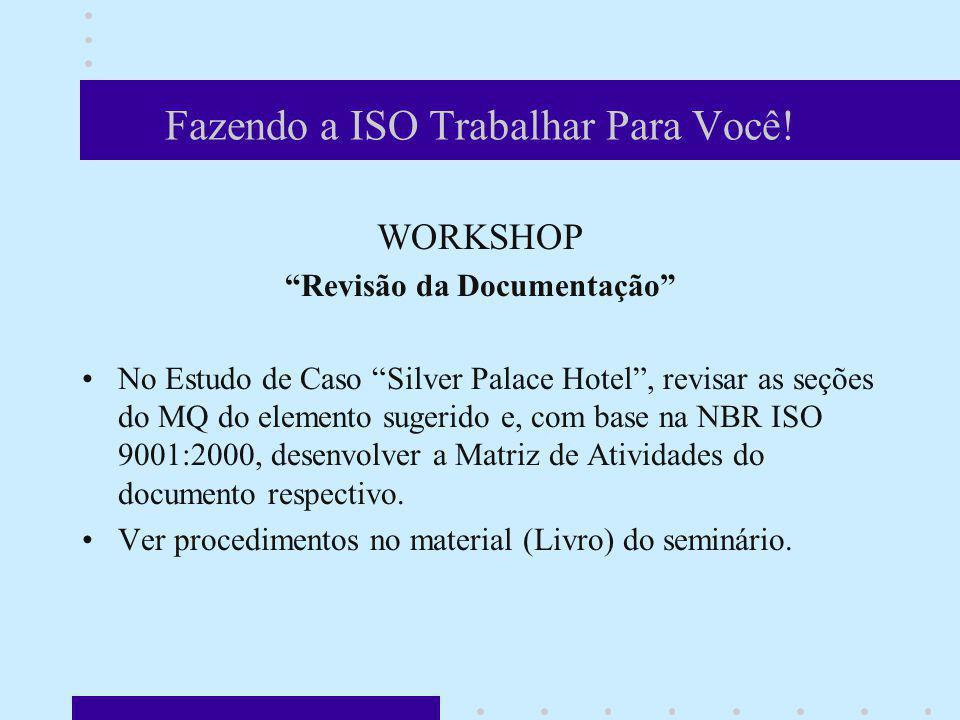 Fazendo a ISO Trabalhar Para Você!
