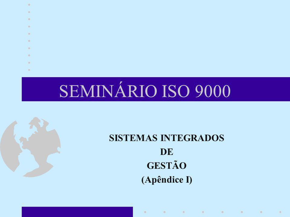 SISTEMAS INTEGRADOS DE GESTÃO (Apêndice I)