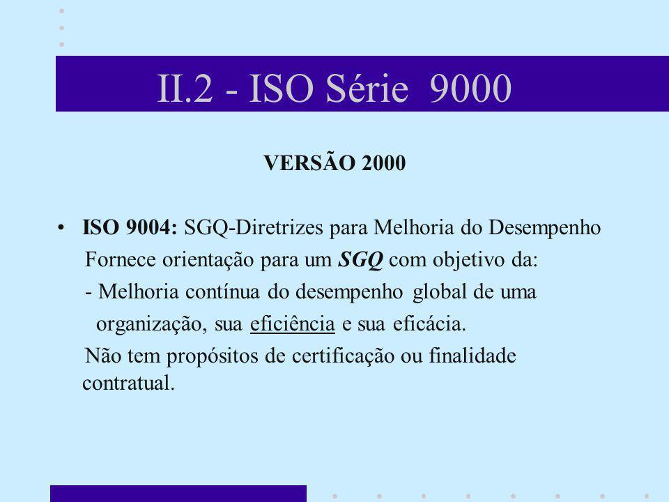 II.2 - ISO Série 9000