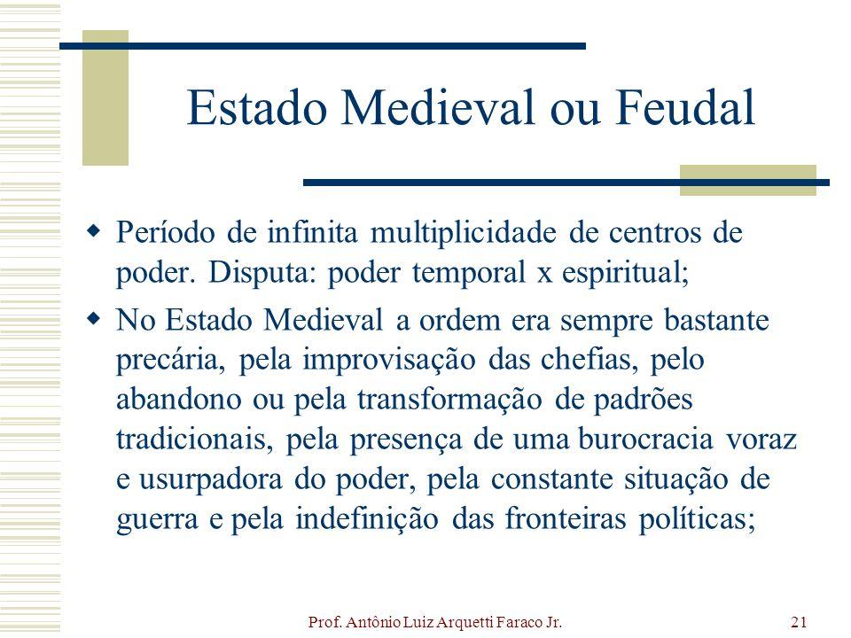 Estado Medieval ou Feudal