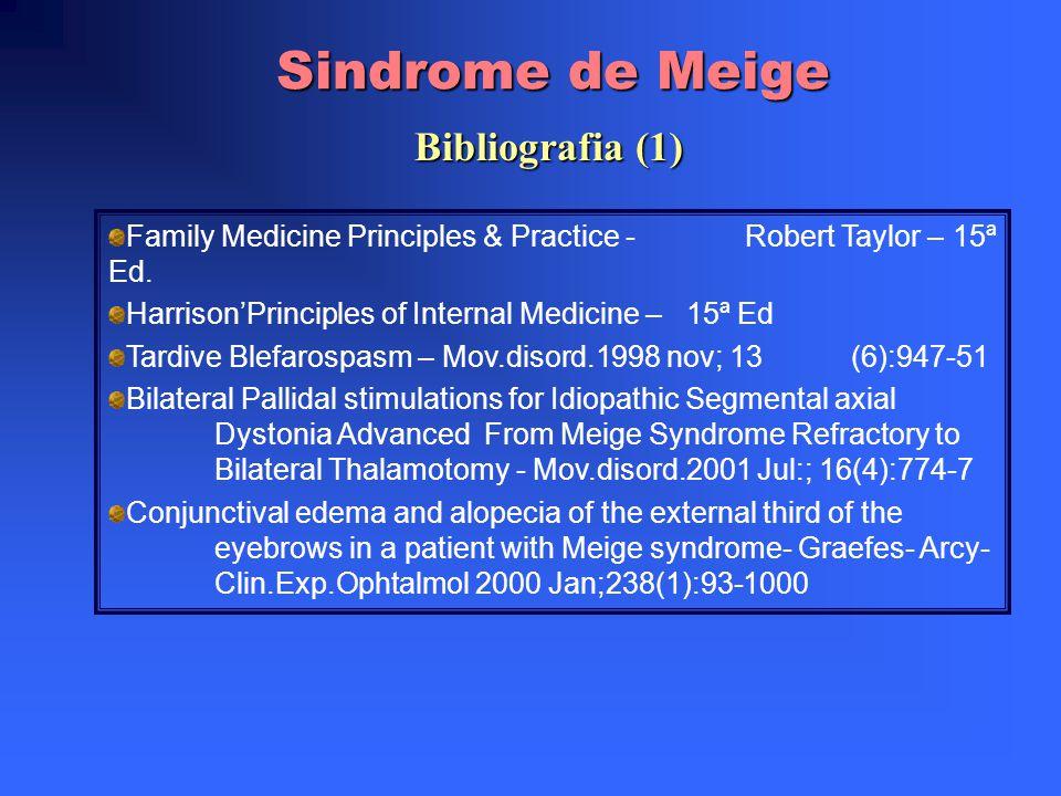 Sindrome de Meige Bibliografia (1)