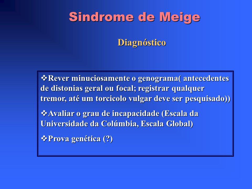 Sindrome de Meige Diagnóstico