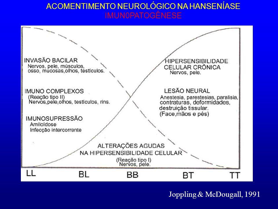 ACOMENTIMENTO NEUROLÓGICO NA HANSENÍASE IMUN0PATOGÊNESE