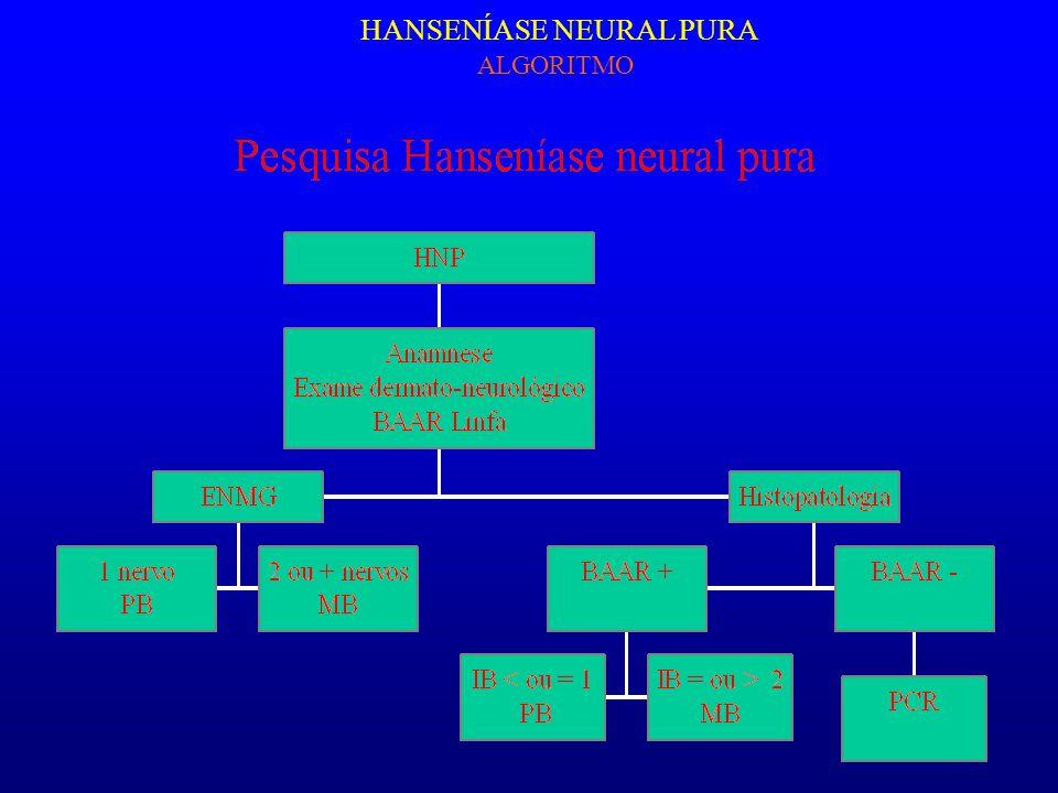 HANSENÍASE NEURAL PURA ALGORITMO