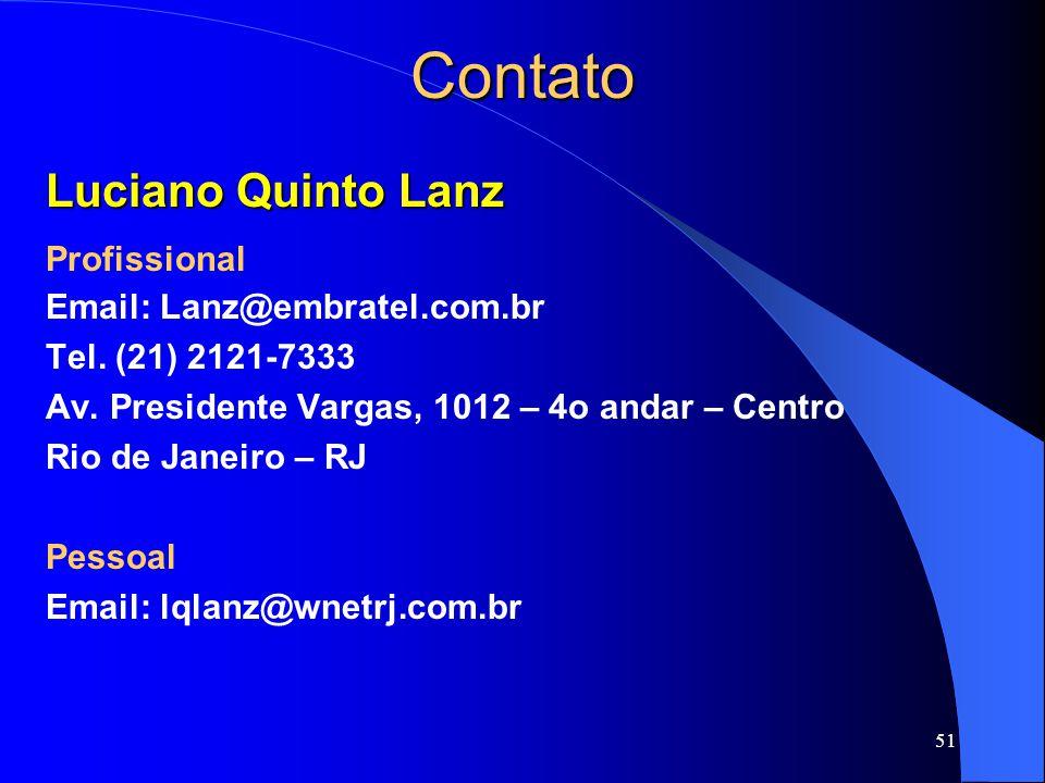 Contato Luciano Quinto Lanz Profissional