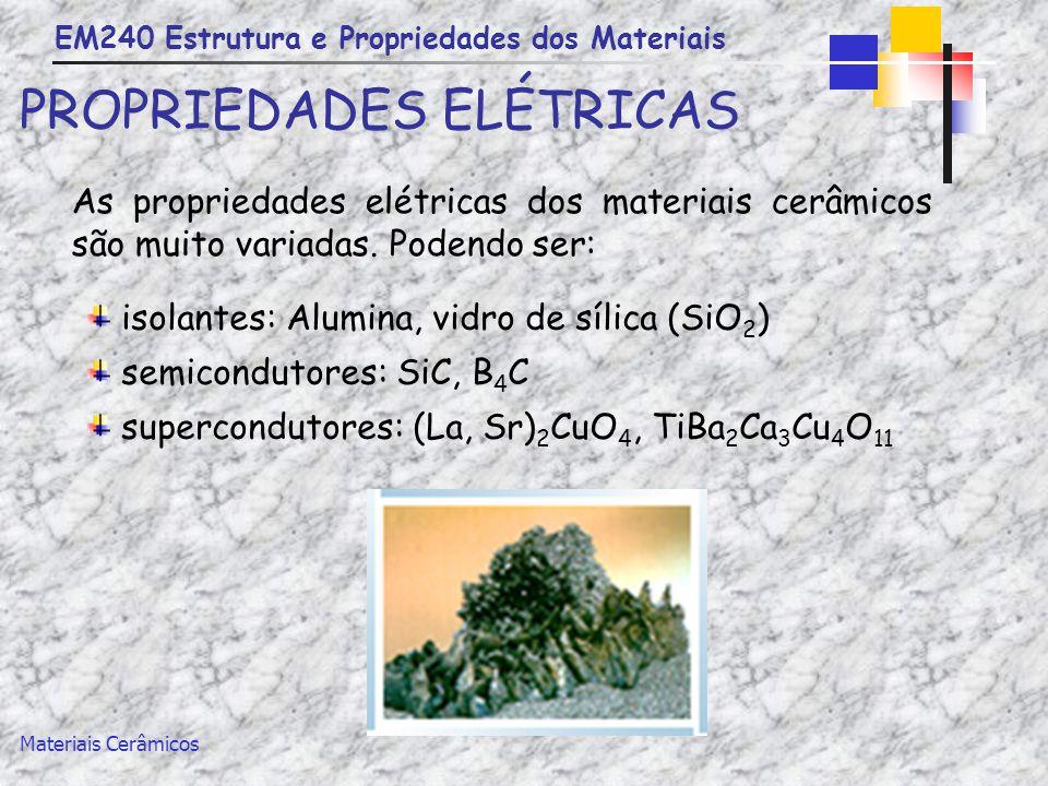 PROPRIEDADES ELÉTRICAS