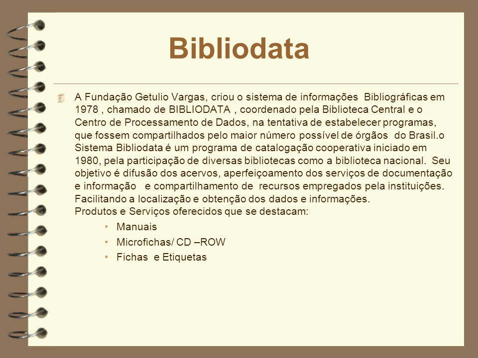 Bibliodata