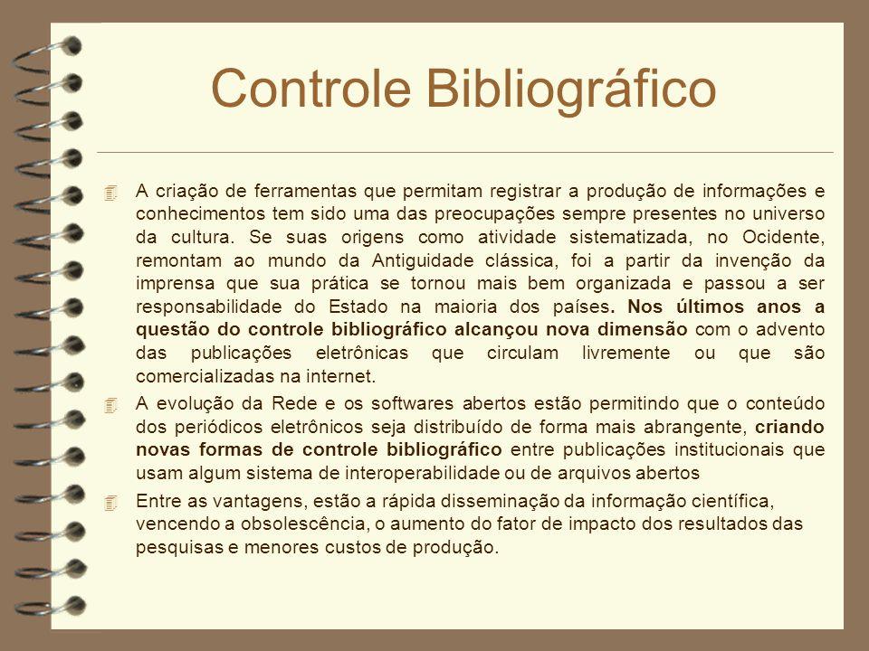 Controle Bibliográfico