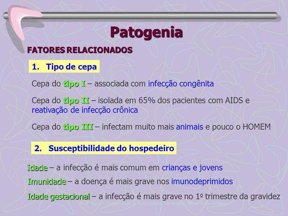 Patogenia FATORES RELACIONADOS Tipo de cepa