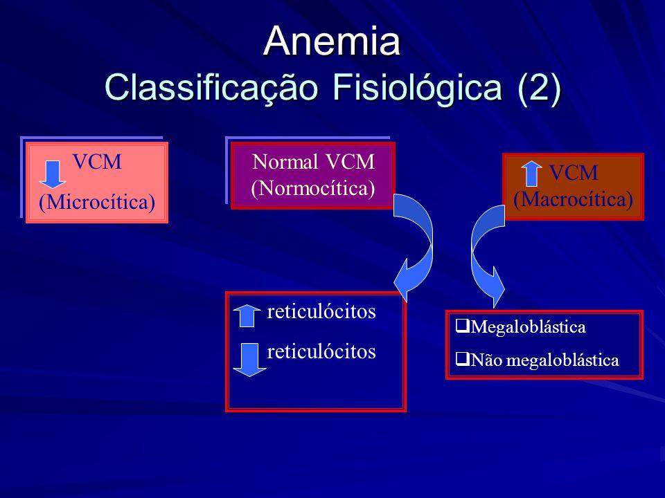 Anemia Classificação Fisiológica (2)