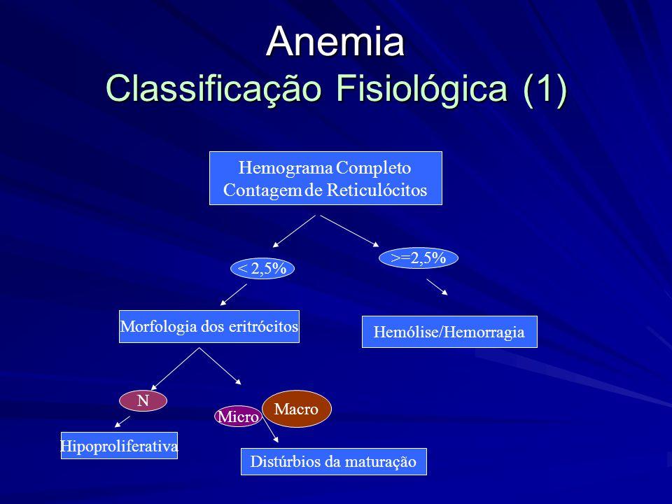 Anemia Classificação Fisiológica (1)
