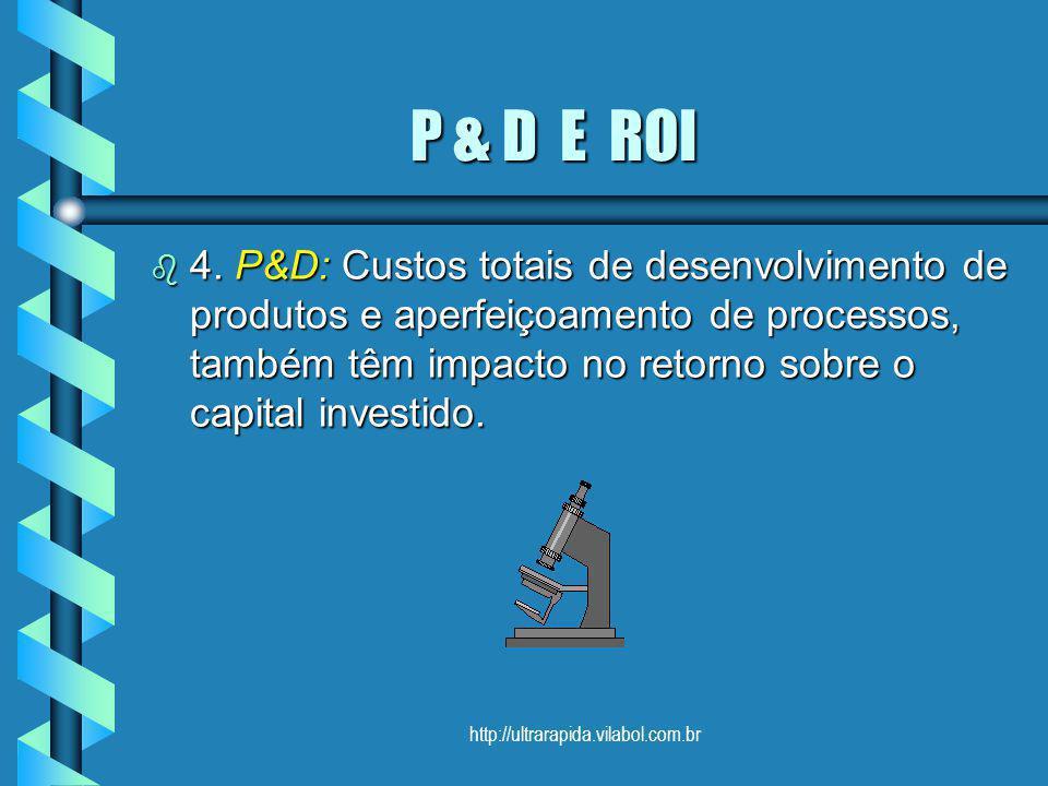 P & D E ROI