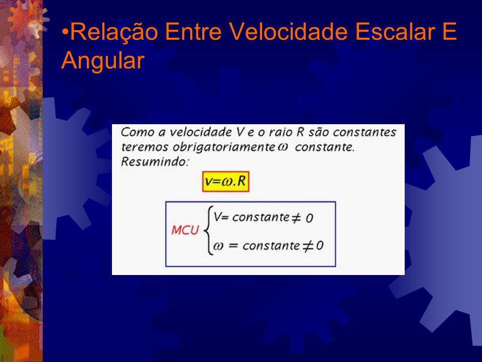 Relação Entre Velocidade Escalar E Angular