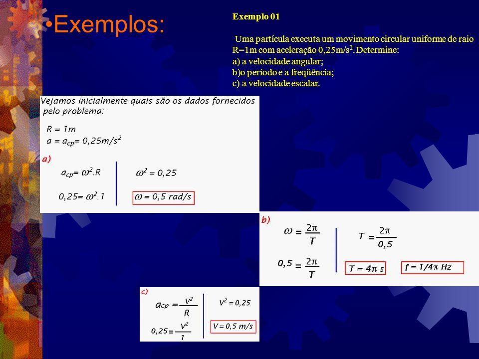 Exemplos: Exemplo 01.