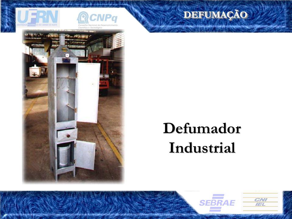 DEFUMAÇÃO Defumador Industrial