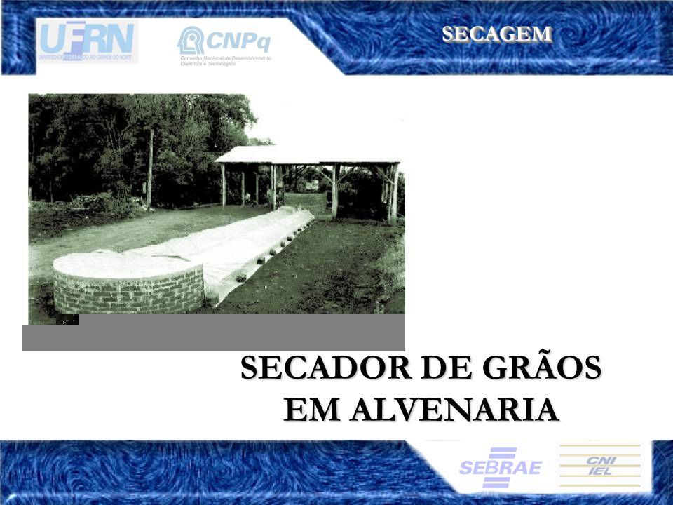 SECADOR DE GRÃOS EM ALVENARIA