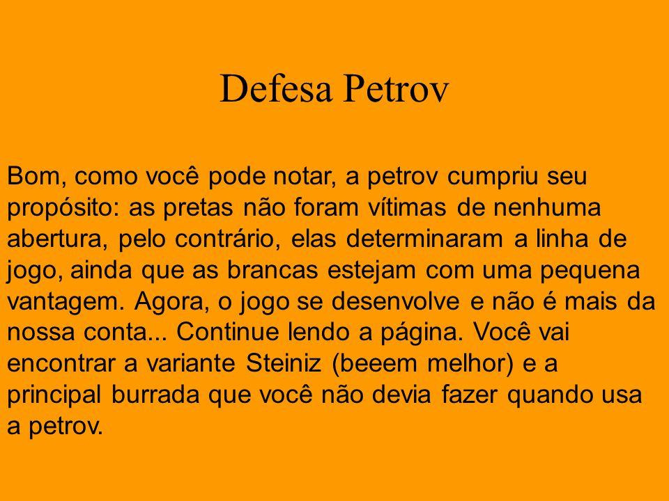 Defesa Petrov