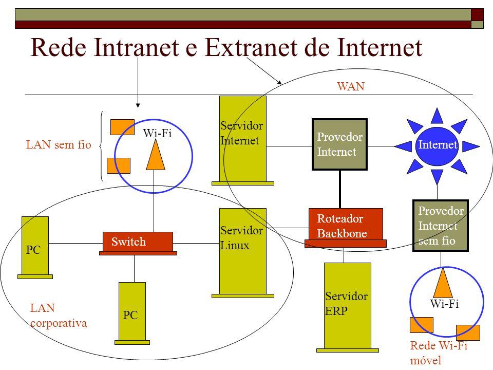 Rede Intranet e Extranet de Internet