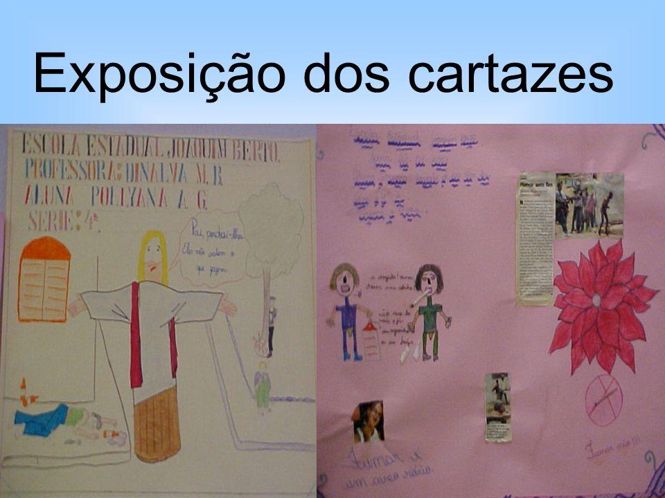Exposição dos cartazes