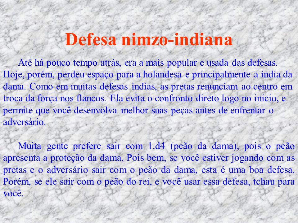 Defesa nimzo-indiana