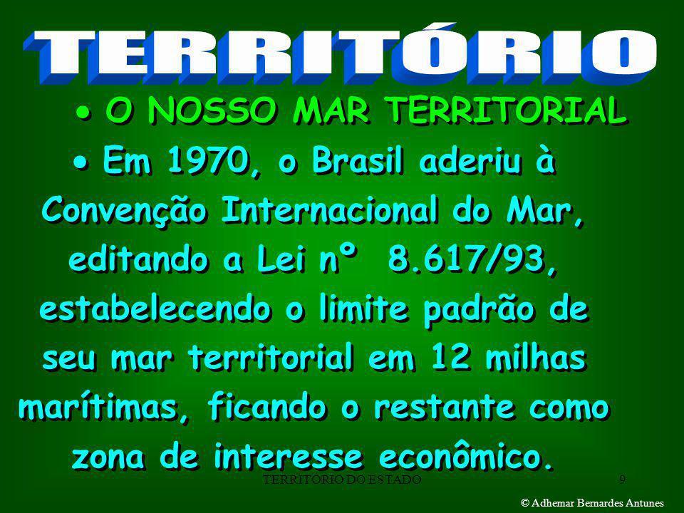  O NOSSO MAR TERRITORIAL