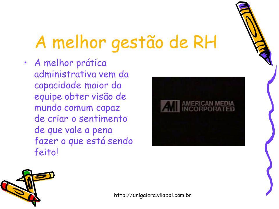 A melhor gestão de RH