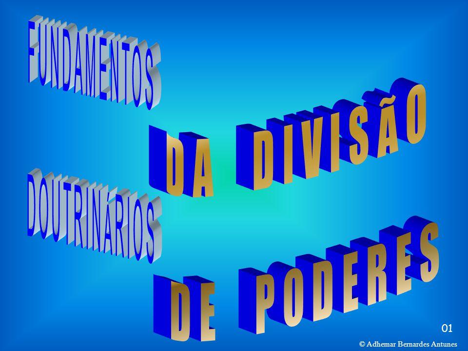 DA DIVISÃO FUNDAMENTOS DE PODERES DOUTRINÁRIOS 01